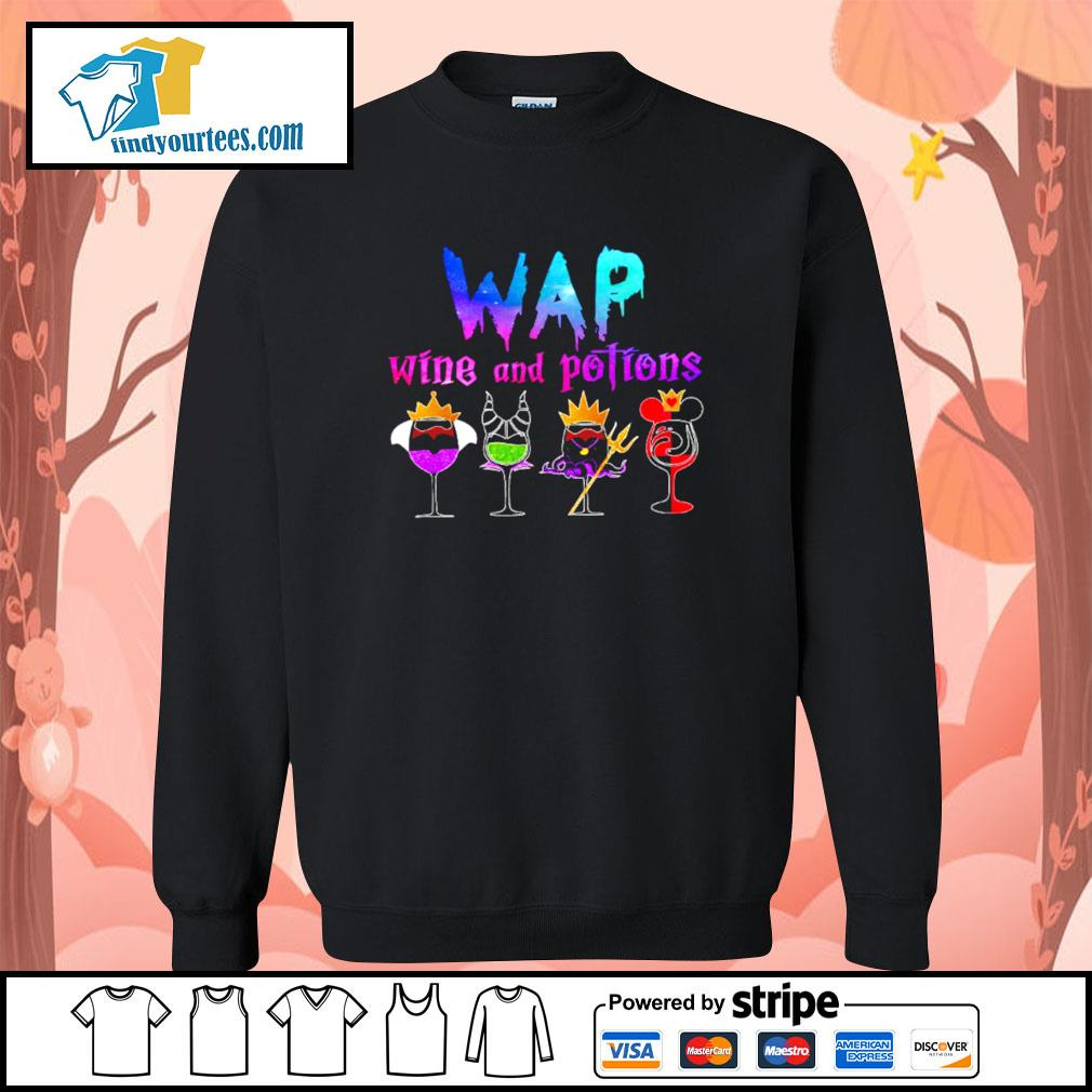 Wap wine and potions Halloween s Sweater