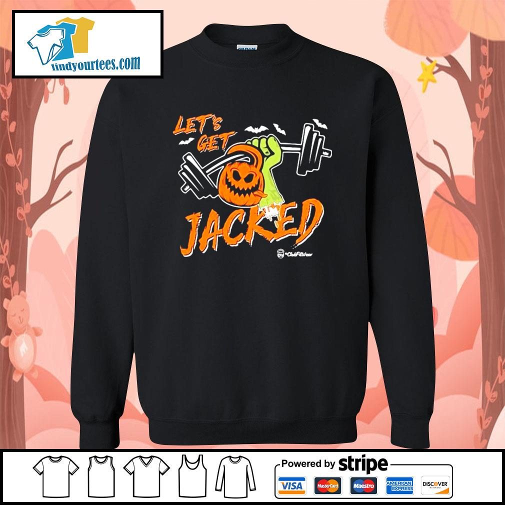Weightlifting Pumpkin Let's get Jacked Halloween s Sweater