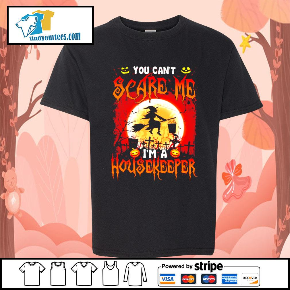 You can't scare me I'm a Housekeeper Halloween s Kid-T-shirt