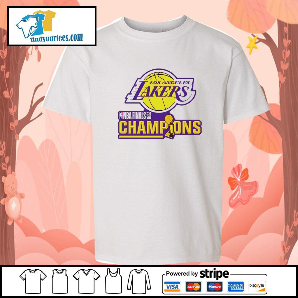 2020 Los Angeles Lakers Champions s Kid-T-shirt