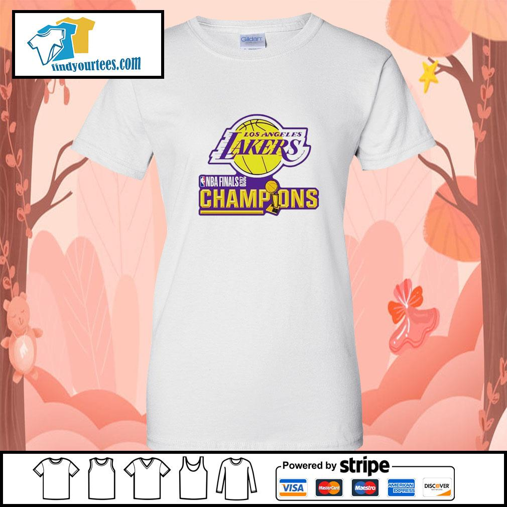 2020 Los Angeles Lakers Champions s Ladies-Tee