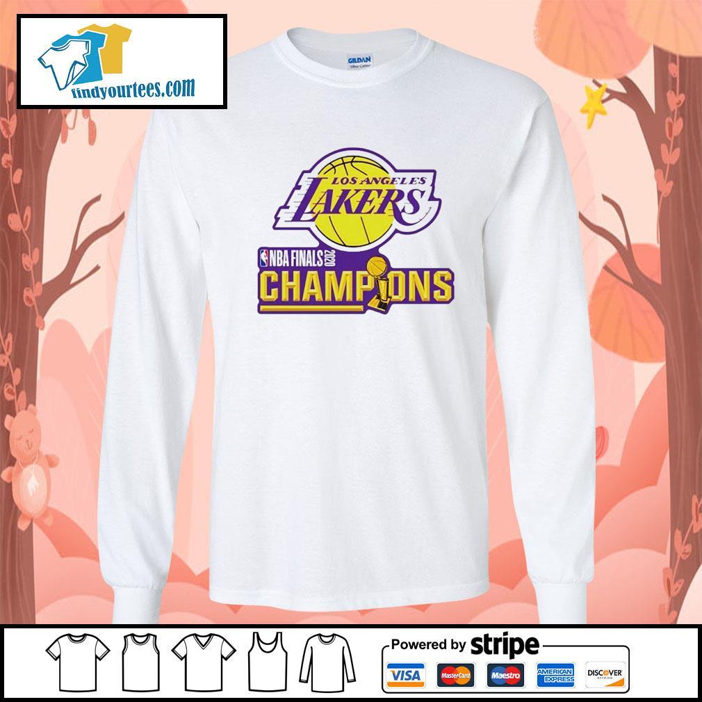 2020 Los Angeles Lakers Champions s Long-Sleeves-Tee