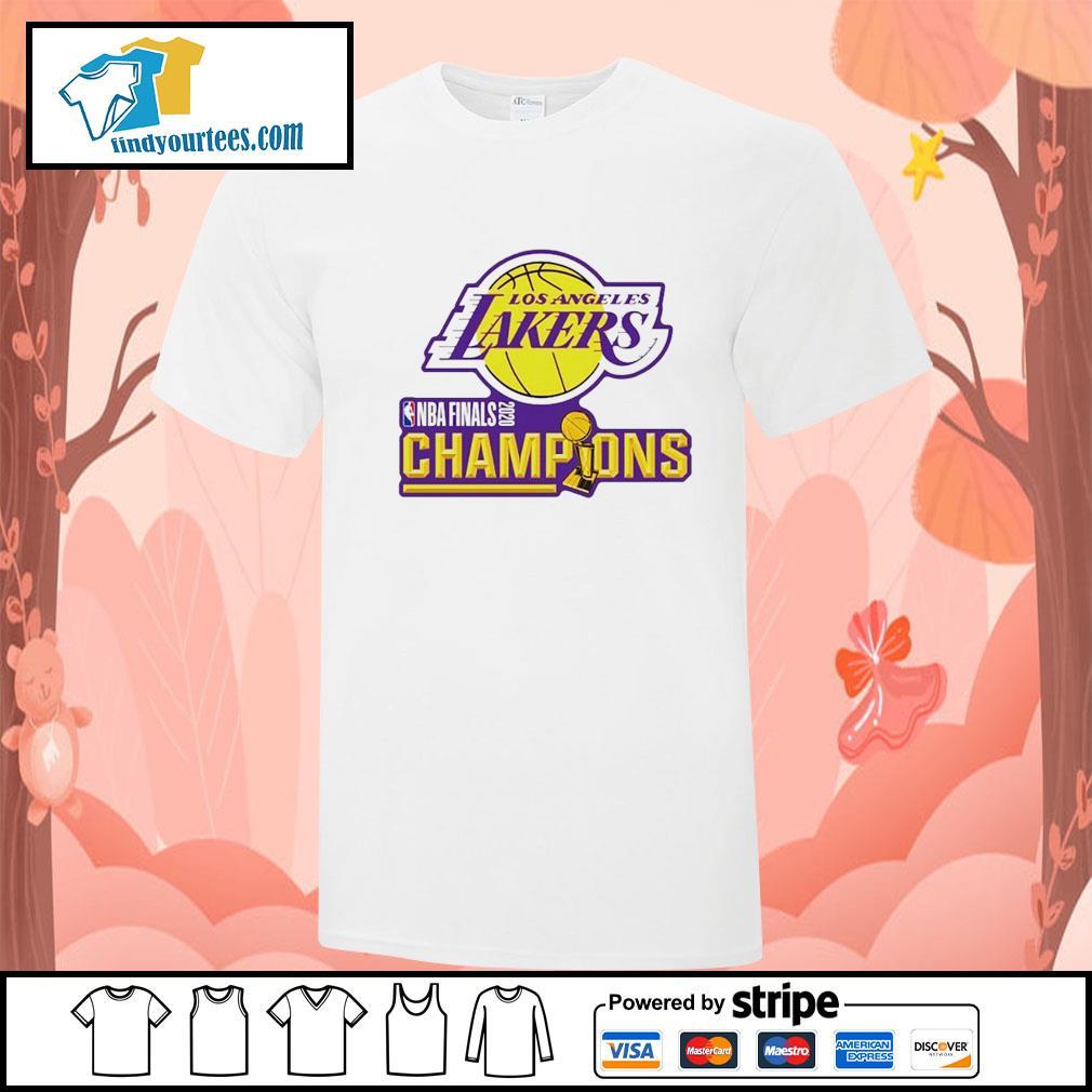 2020 Los Angeles Lakers Champions shirt