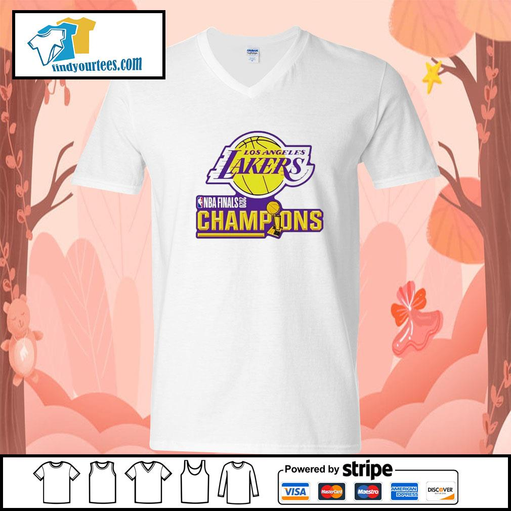 2020 Los Angeles Lakers Champions s V-neck-T-shirt