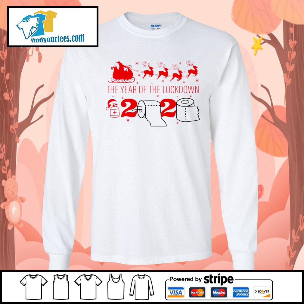 2020 Toilet Paper the year of the lockdown christmas s Long-Sleeves-Tee