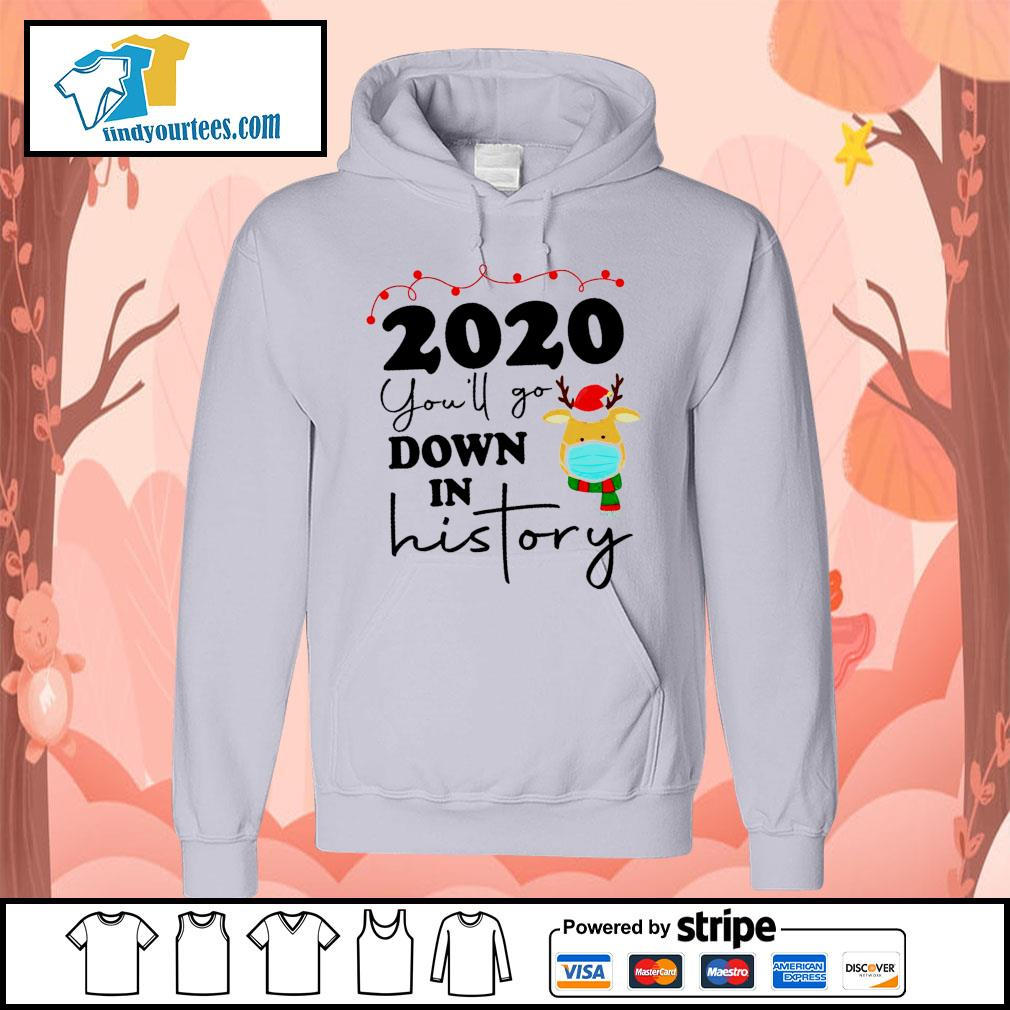 2020 you'll go down in history s Hoodie