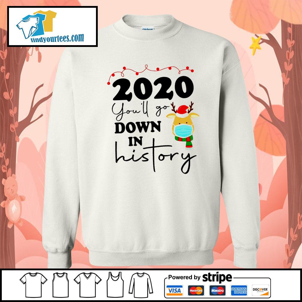2020 you'll go down in history s Sweater
