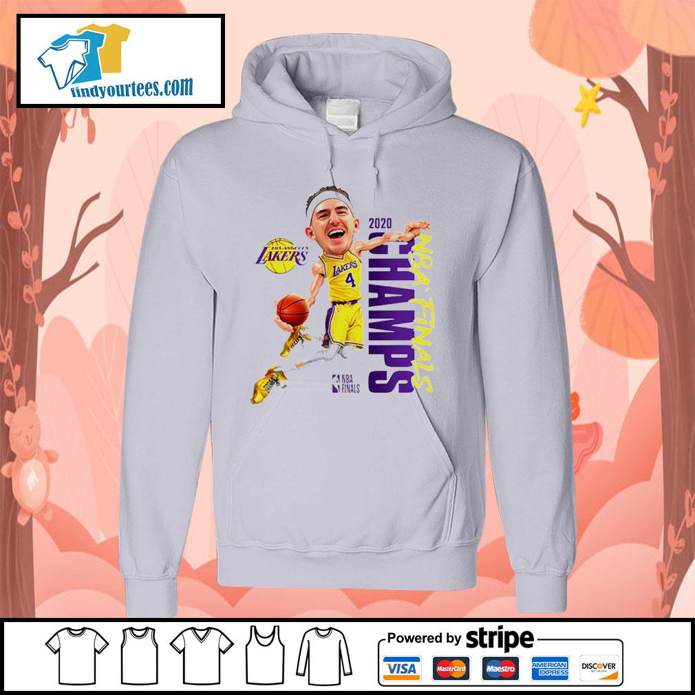 Alex Caruso Los Angeles Lakers Champions 2020 s Hoodie