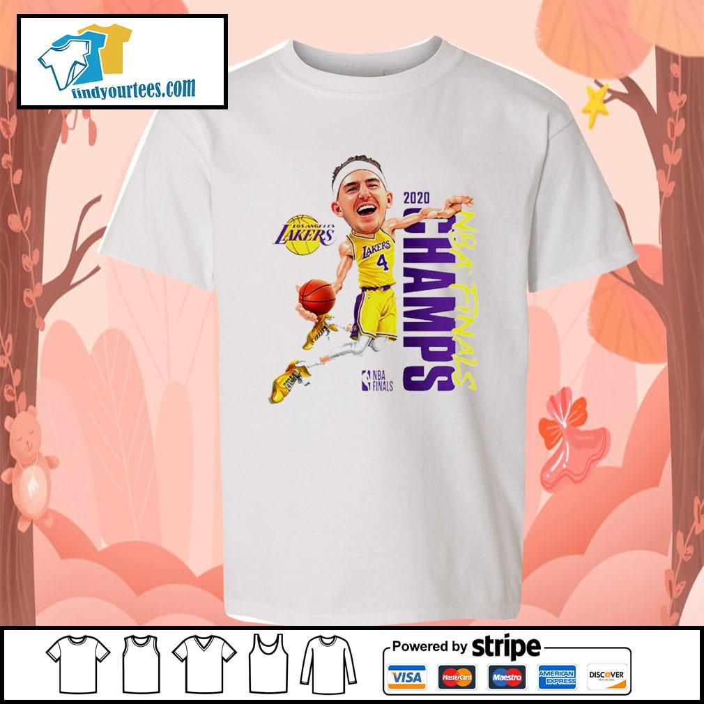 Alex Caruso Los Angeles Lakers Champions 2020 s Kid-T-shirt