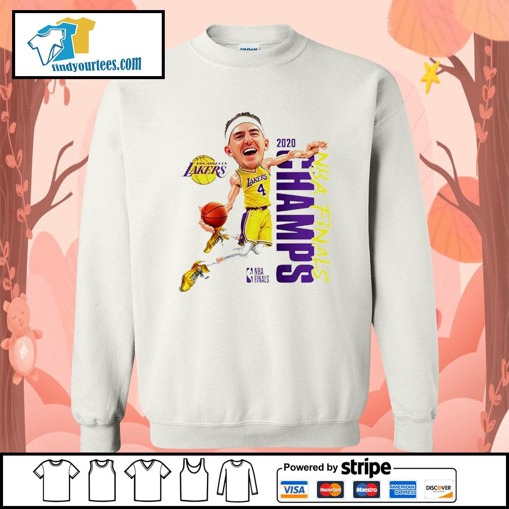 Alex Caruso Los Angeles Lakers Champions 2020 s Sweater