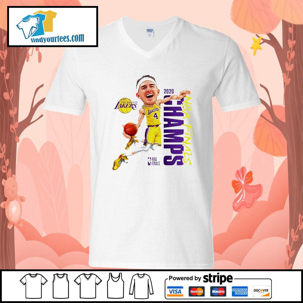 Alex Caruso Los Angeles Lakers Champions 2020 s V-neck-T-shirt