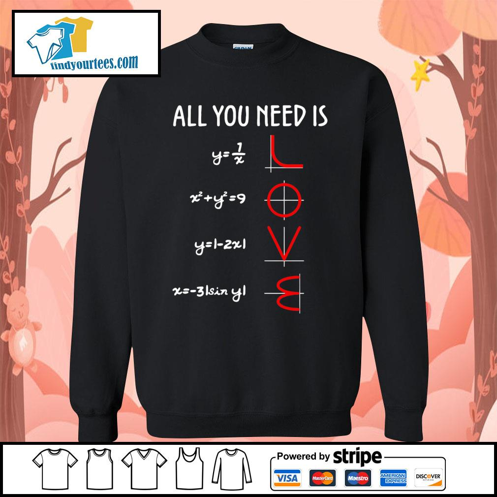 All you need is love math s Sweater