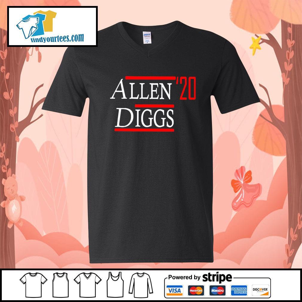 Allen Diggs 2020 s V-neck-T-shirt