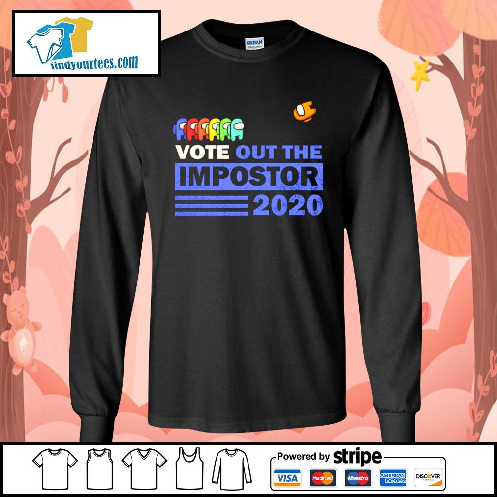 Among Us vote out the impostor 2020 s Long-Sleeves-Tee
