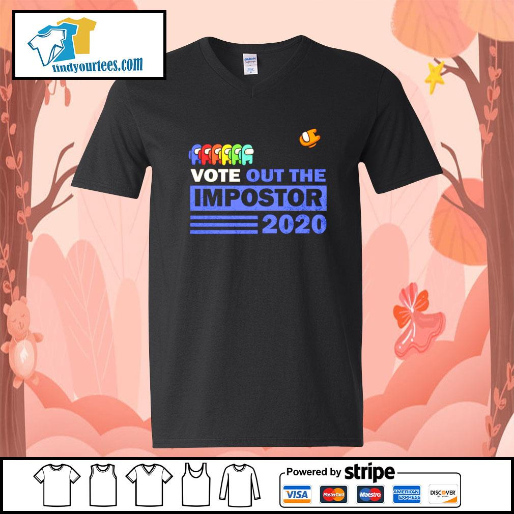 Among Us vote out the impostor 2020 s V-neck-T-shirt