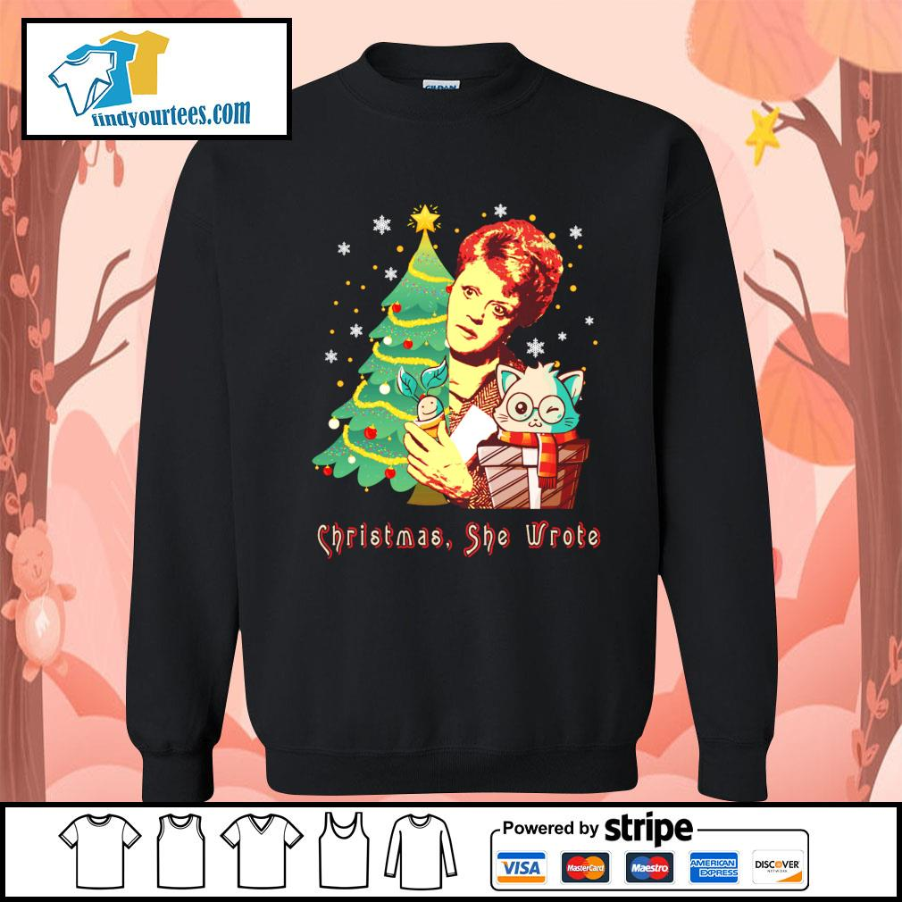 Angela Lansbury Christmas she wrote s Sweater