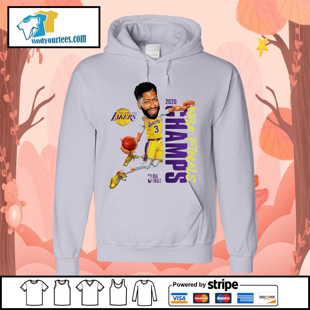 Anthony Davis Los Angeles Lakers Champions 2020 s Hoodie
