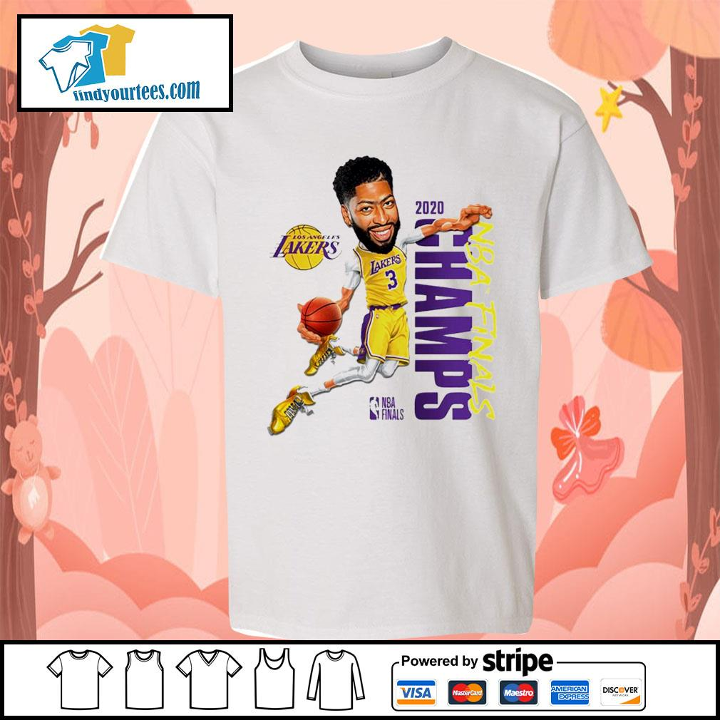 Anthony Davis Los Angeles Lakers Champions 2020 s Kid-T-shirt