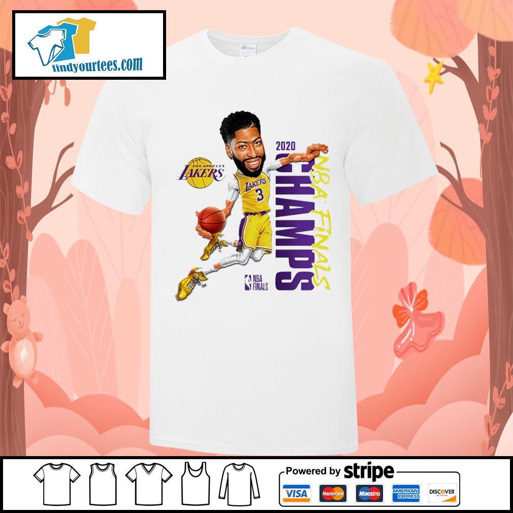 Anthony Davis Los Angeles Lakers Champions 2020 shirt