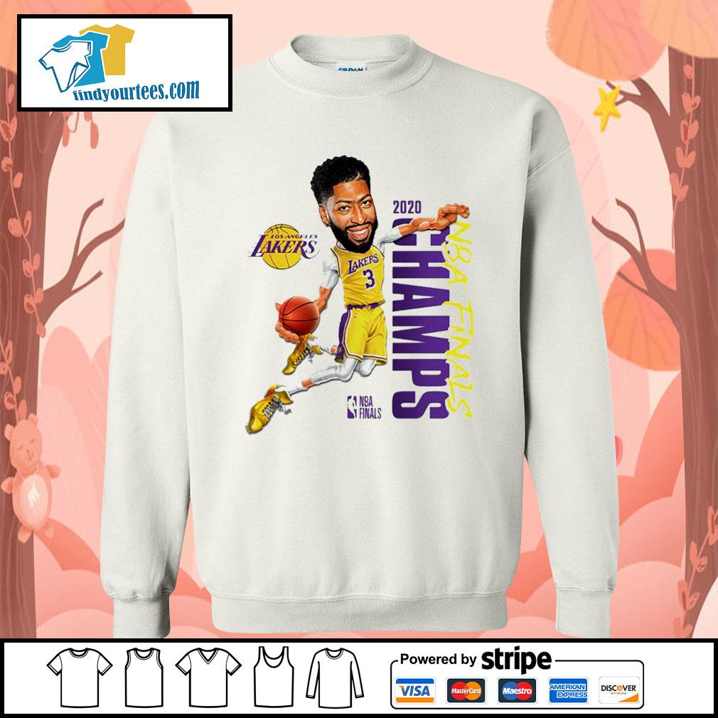 Anthony Davis Los Angeles Lakers Champions 2020 s Sweater