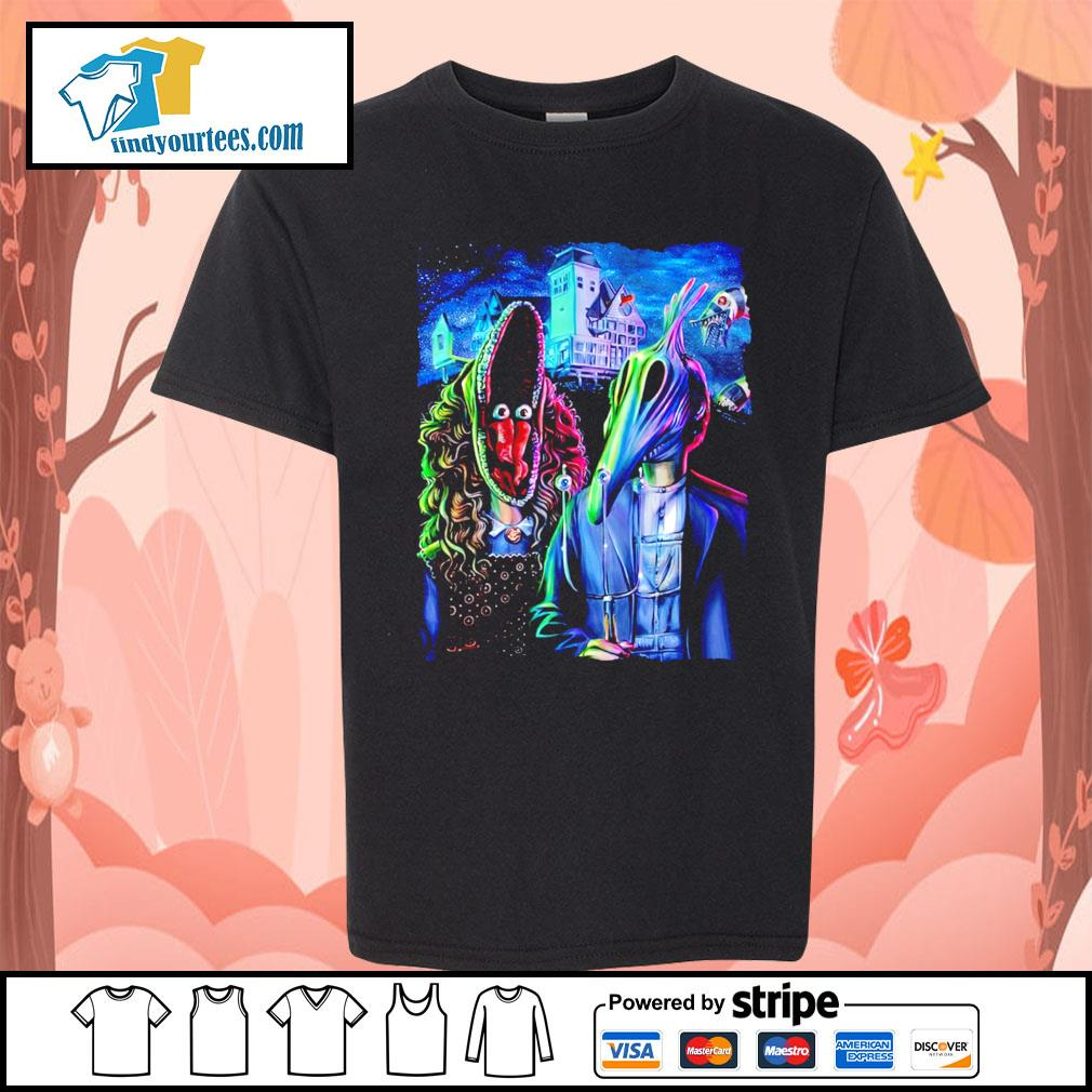 Beetlejuice art American Gothic s Kid-T-shirt