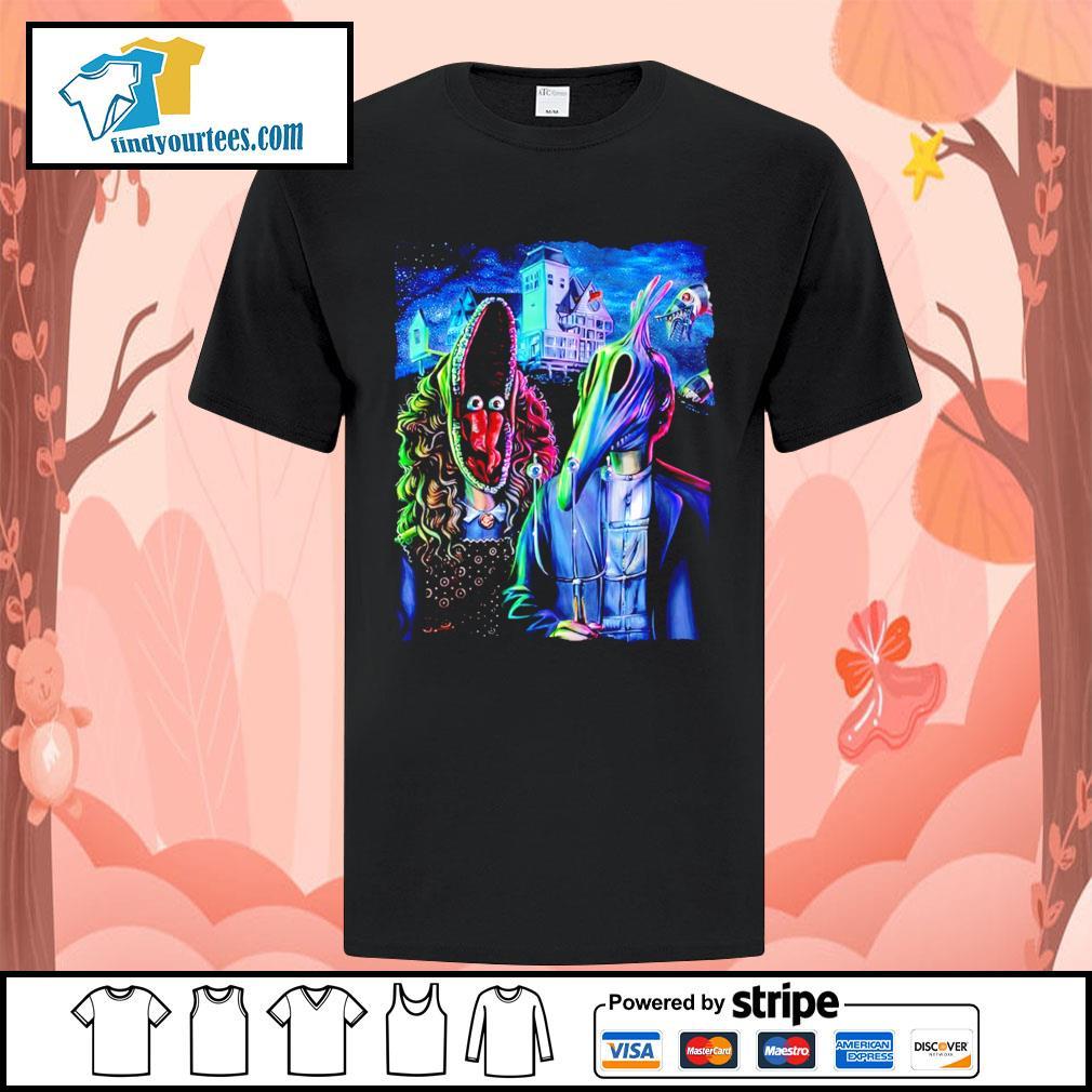 Beetlejuice art American Gothic shirt
