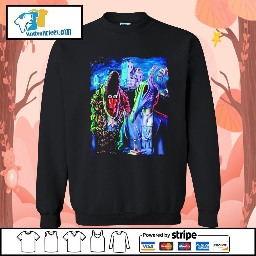 Beetlejuice art American Gothic s Sweater