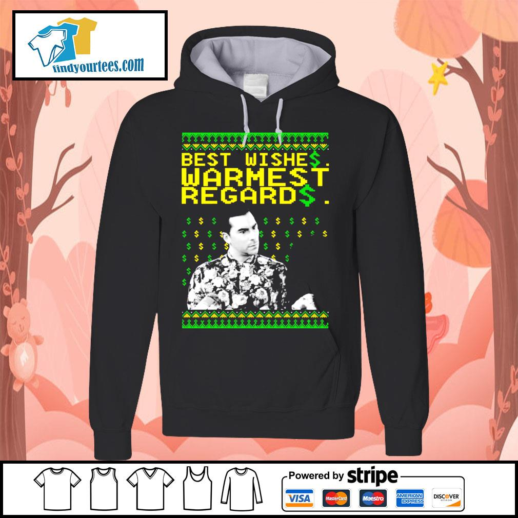 Best Wishes Warmest Regards Christmas shirt, sweater Hoodie