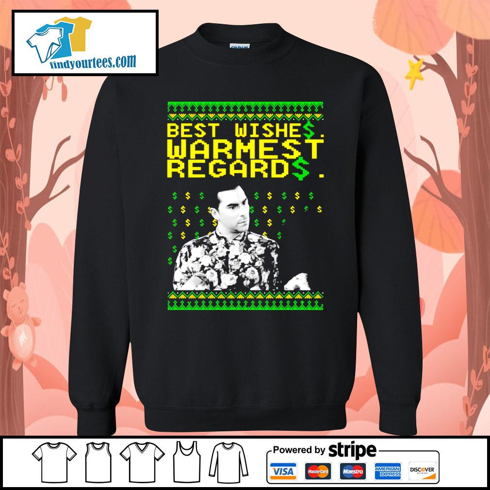 Best Wishes Warmest Regards Christmas shirt, sweater Sweater