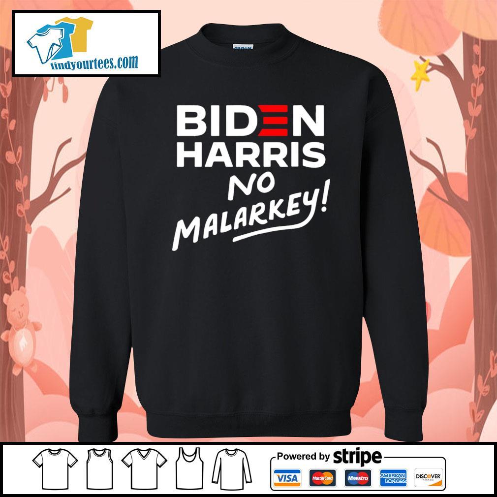 Biden Harris No Malarkey 2020 s Sweater