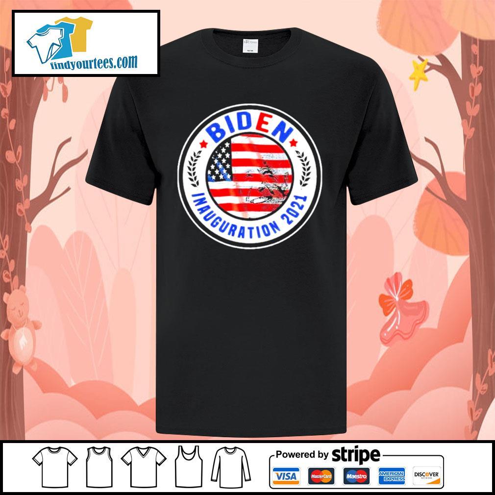 Biden Inauguration 2021 American flag shirt