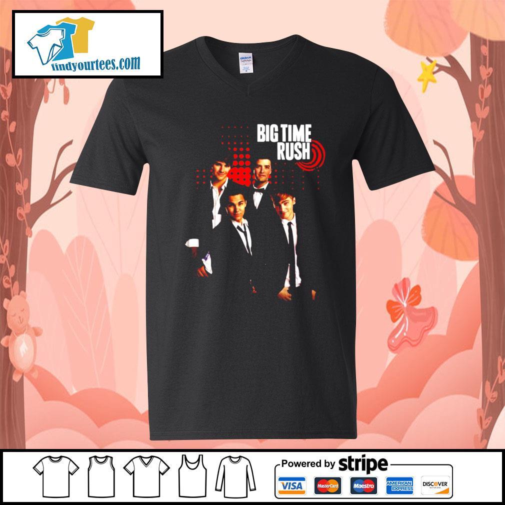 Big Time Rush s V-neck-T-shirt