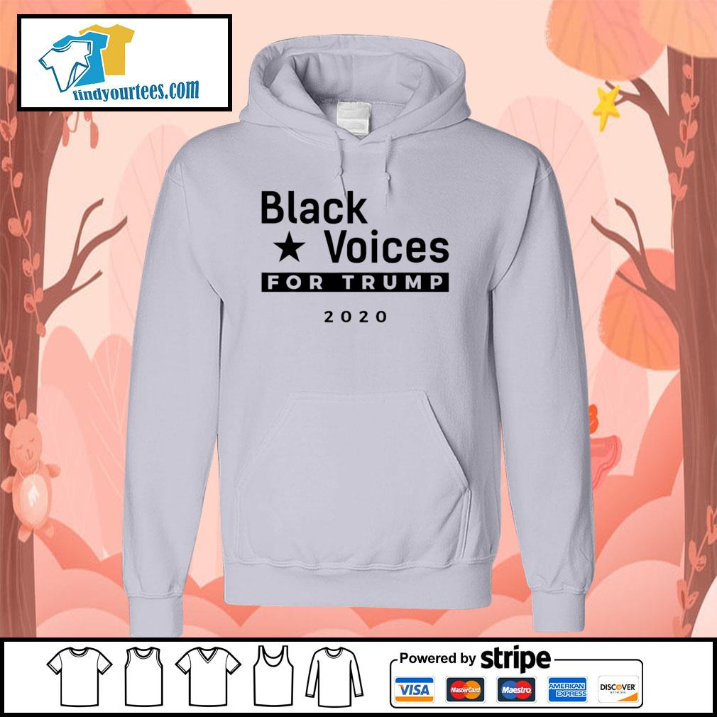 Black Voices for Trump 2020 s Hoodie