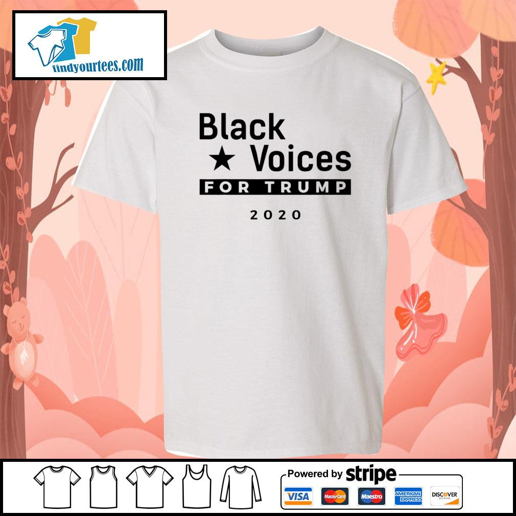 Black Voices for Trump 2020 s Kid-T-shirt