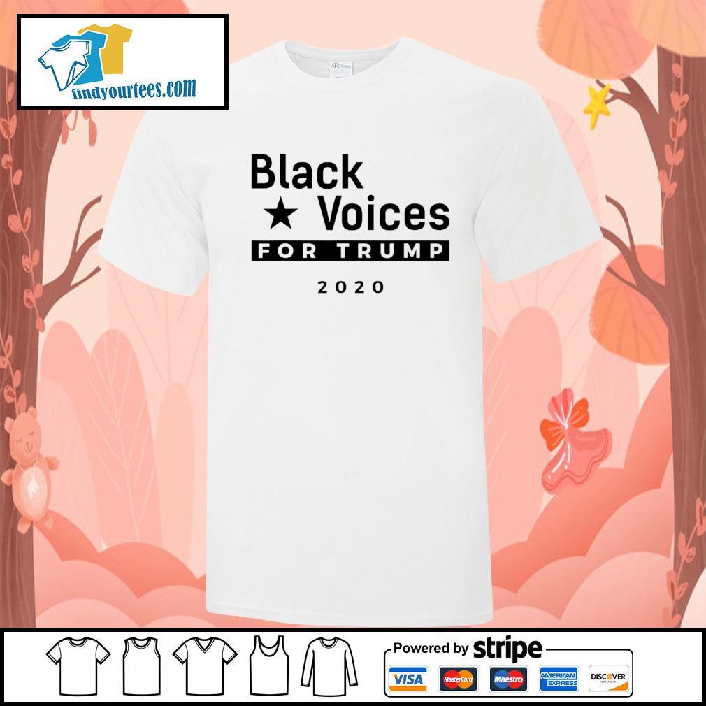 Black Voices for Trump 2020 shirt