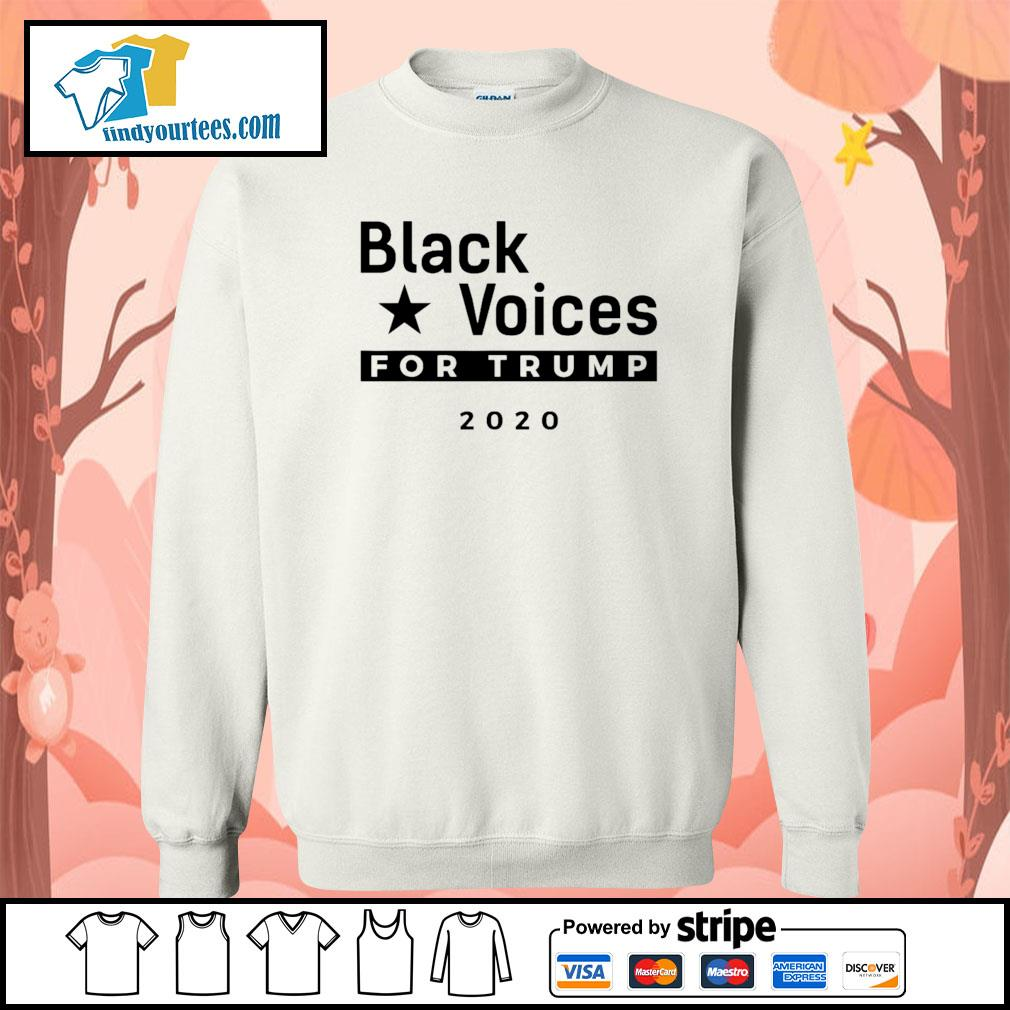 Black Voices for Trump 2020 s Sweater