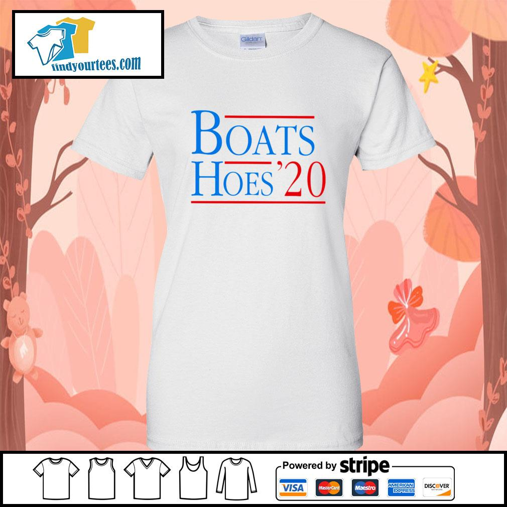 Boats and Hoes 2020 s Ladies-Tee