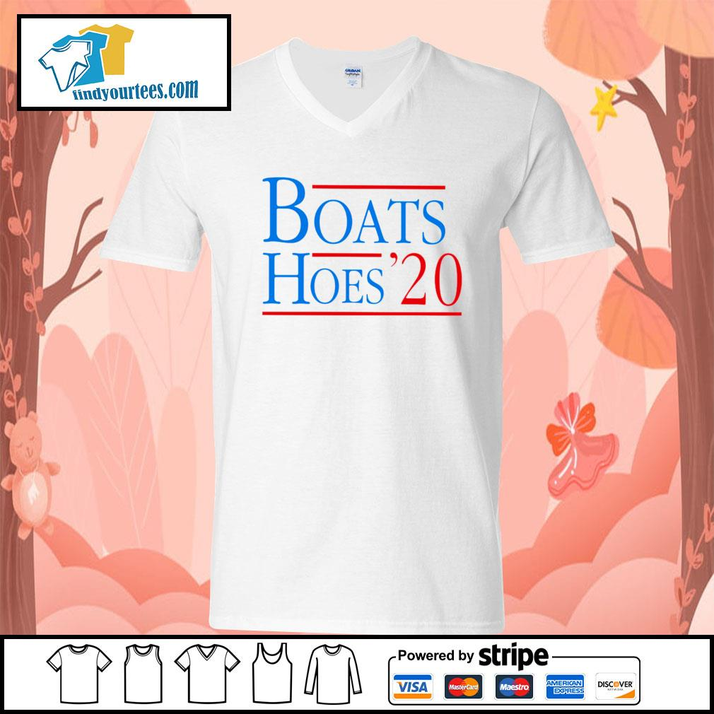 Boats and Hoes 2020 s V-neck-T-shirt