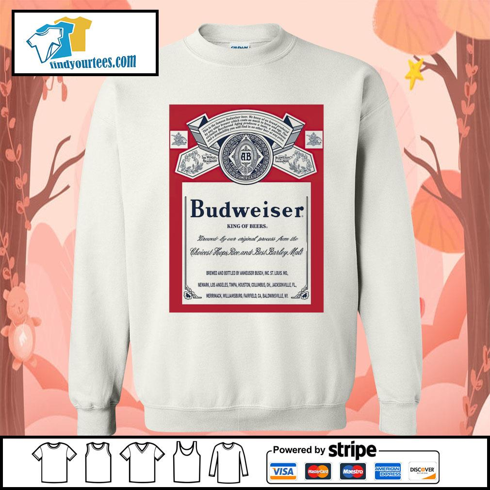 Budweiser King of beers s Sweater