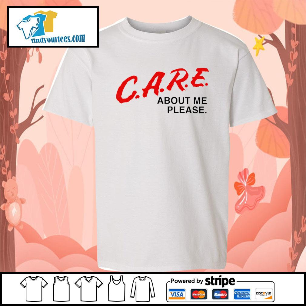 Care about me please s Kid-T-shirt