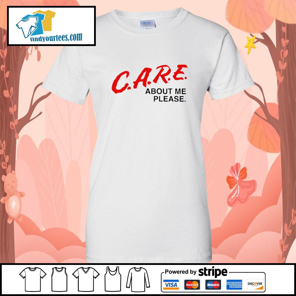 Care about me please s Ladies-Tee