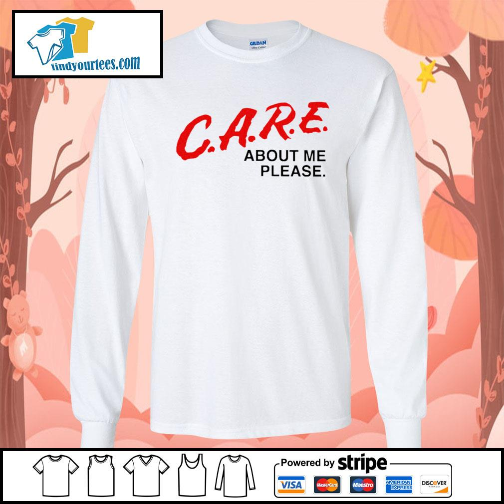 Care about me please s Long-Sleeves-Tee