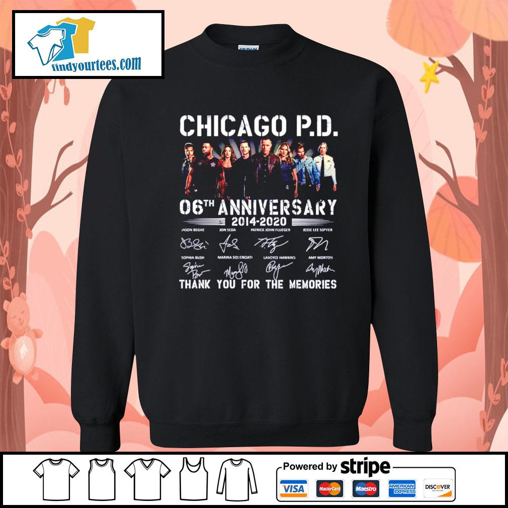 Chicago P.D 06th anniversary 2014 2020 thank you for the memories s Sweater