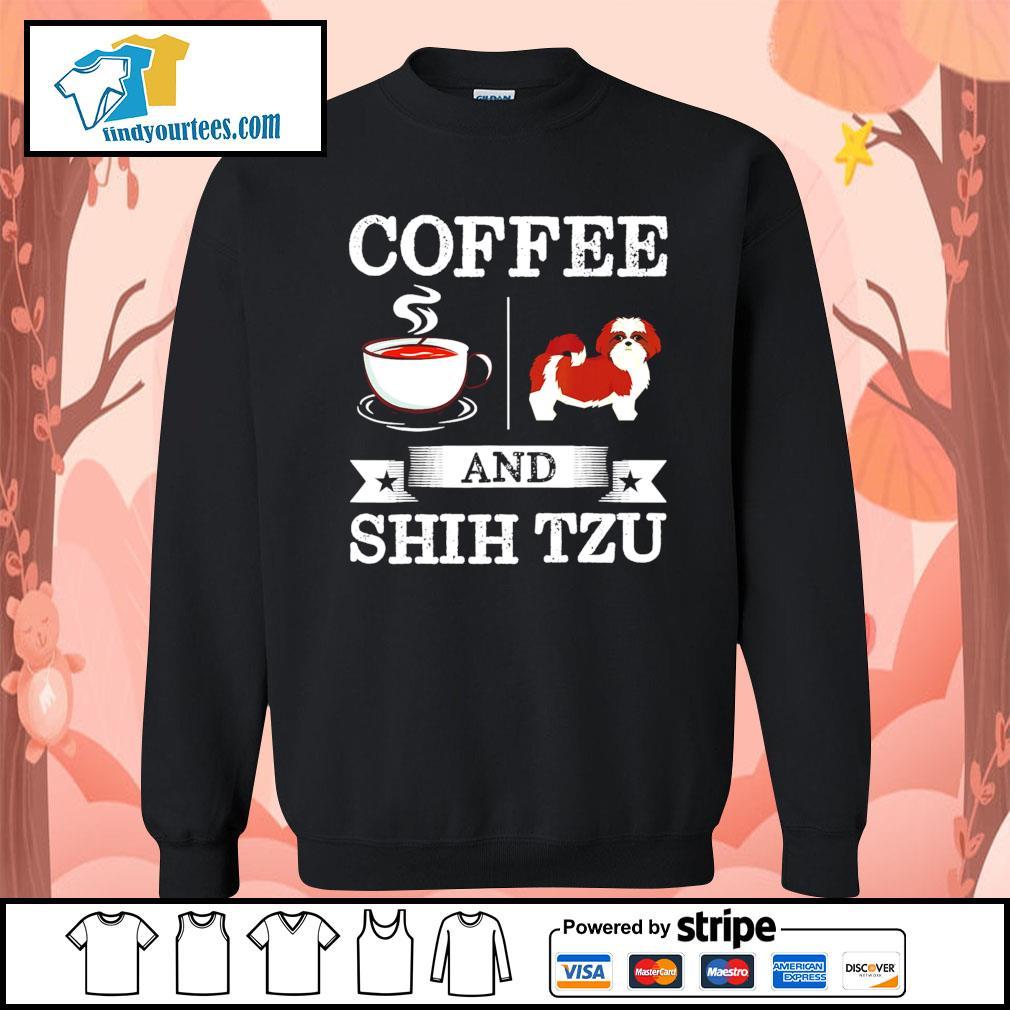 Coffee and Shih Tzu s Sweater