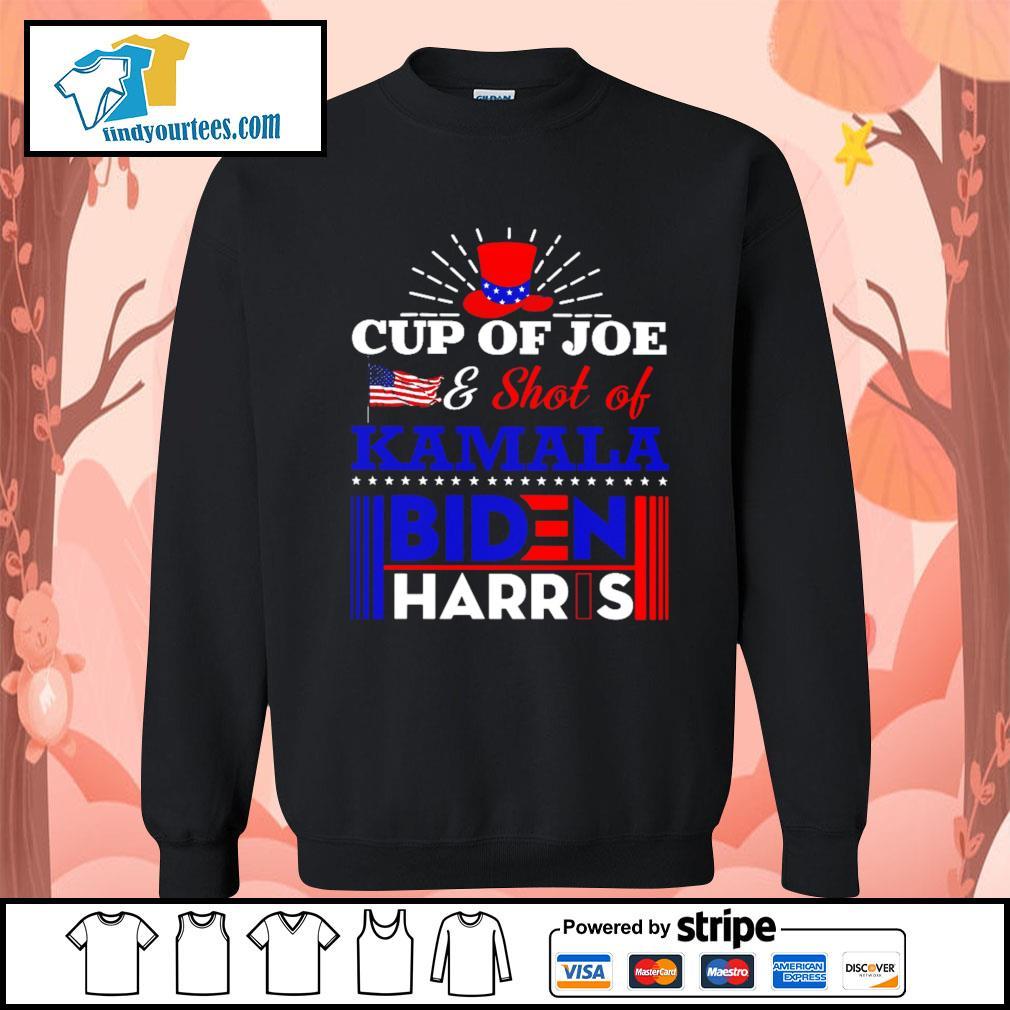Cup of Joe and shot of Kamala Biden Harris s Sweater