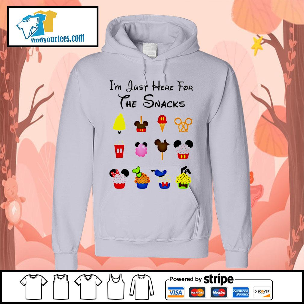 Disney I'm just here for the snacks Halloween s Hoodie