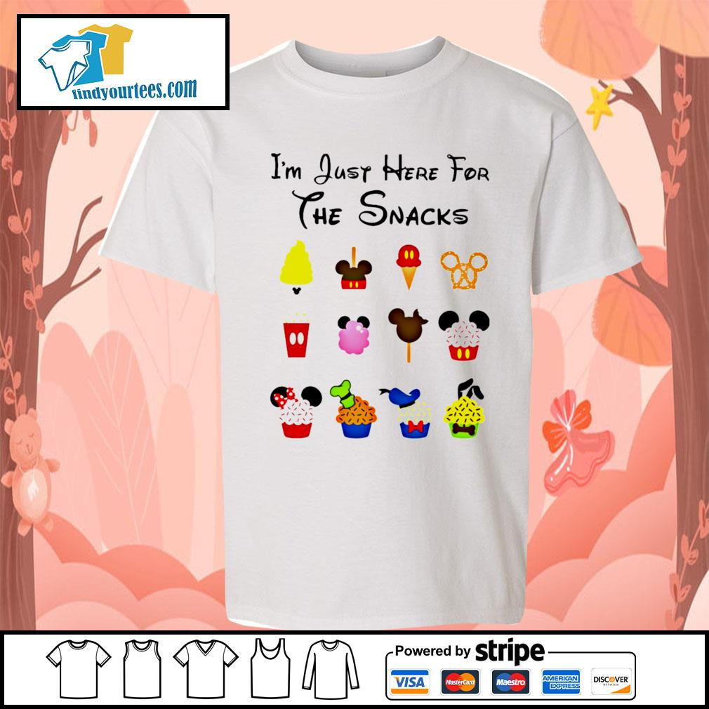Disney I'm just here for the snacks Halloween s Kid-T-shirt
