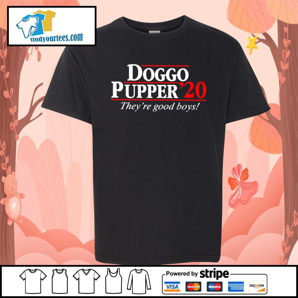 Doggo Pupper 2020 they're good boys s Kid-T-shirt