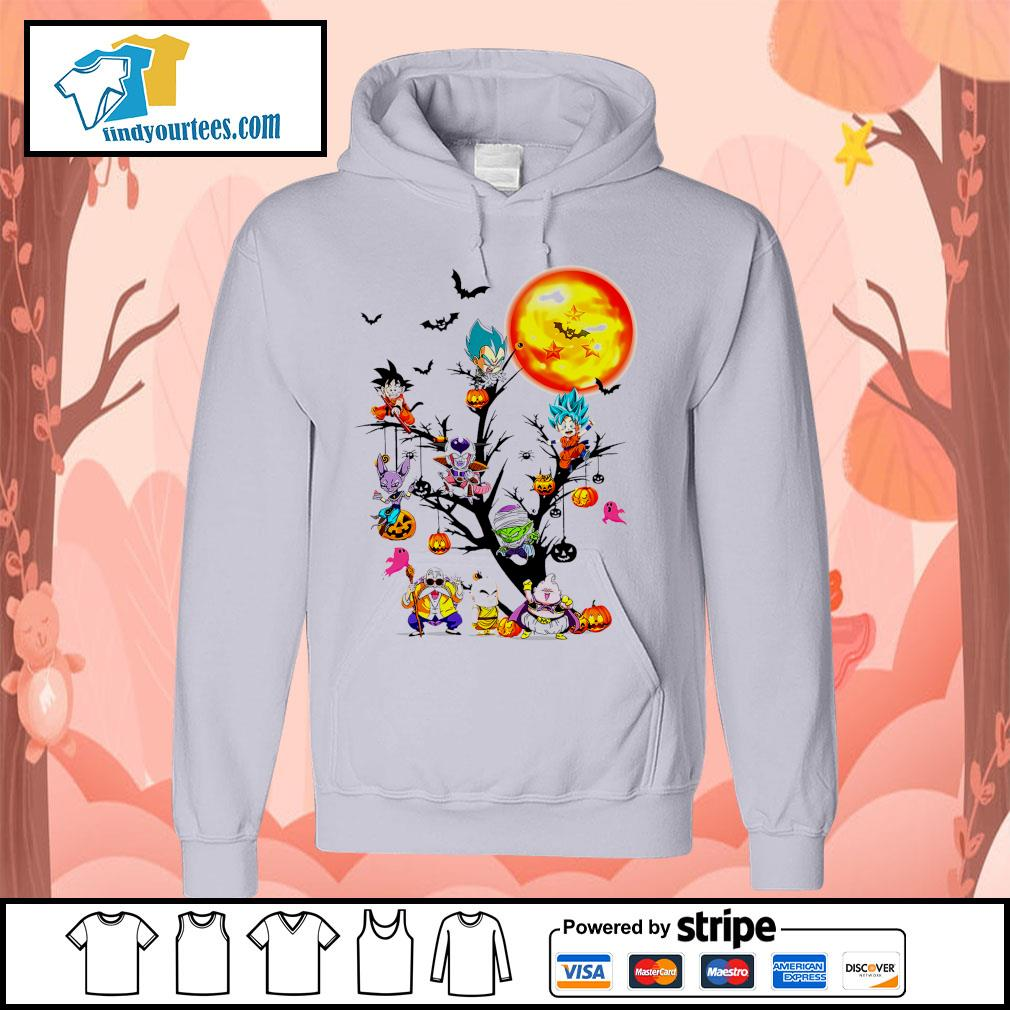 Dragon Ball characters Halloween tree s Hoodie