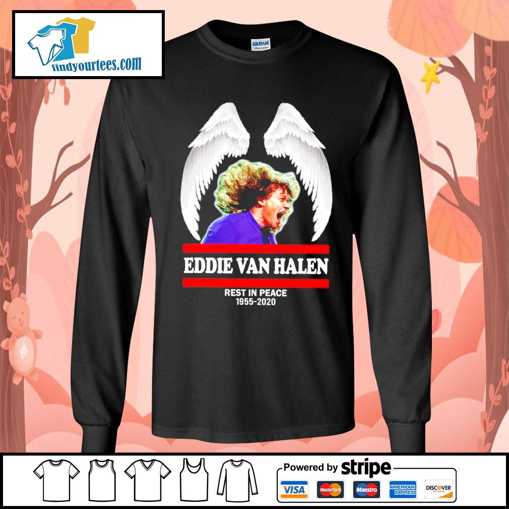 Eddie Van Halen rest in peace 1955 2020 s Long-Sleeves-Tee